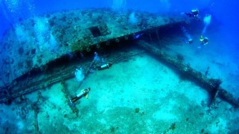 The Maldives Ship Wreck