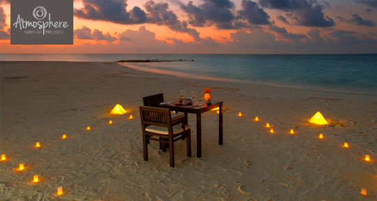 Honeymoon at  Atmosphere Kanifushi Maldives
