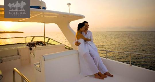 Honeymoon at Cocoa Island Maldives