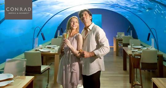 Honeymoon at Conrad Maldives