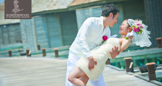 Honeymoon at Lily Beach