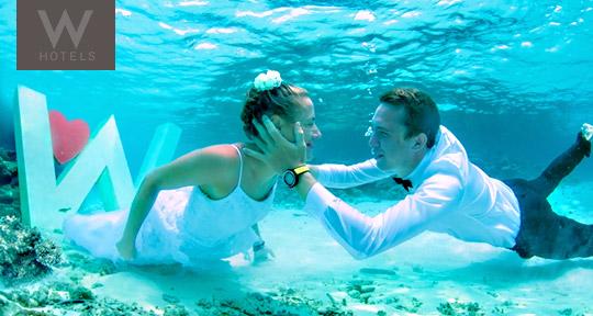 Honeymoon at W Retreat Maldives