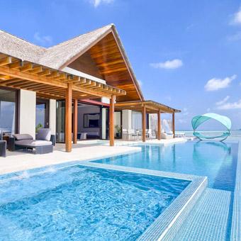 villas in maldives book a villa