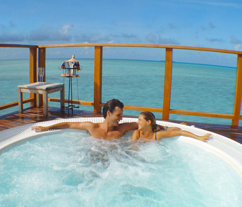 Water Villas for Honeymooners