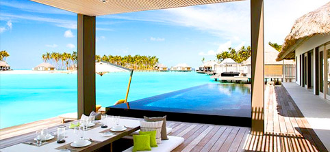 Maldives Water Villas - Ocean Water Villa at Cheval Blanc Randheli