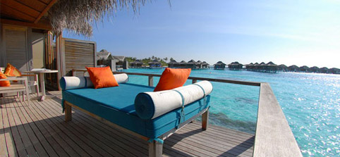 Maldives Water Villas - Over Water Bungalow at Anantara Veli Resort & Spa Maldives