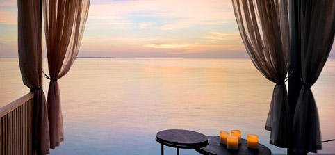 Maldives Water Villas - Sunset Deluxe Water Pool Villa at Velaa Private Island