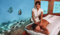 Unique Underwater Spa Experience at