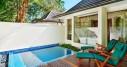 King Beachfront Villa with Plunge Pool