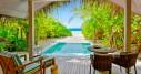 Beach Pool Villa Sunset