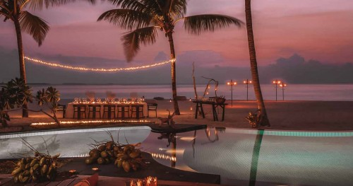 Four Seasons Voavah Private island