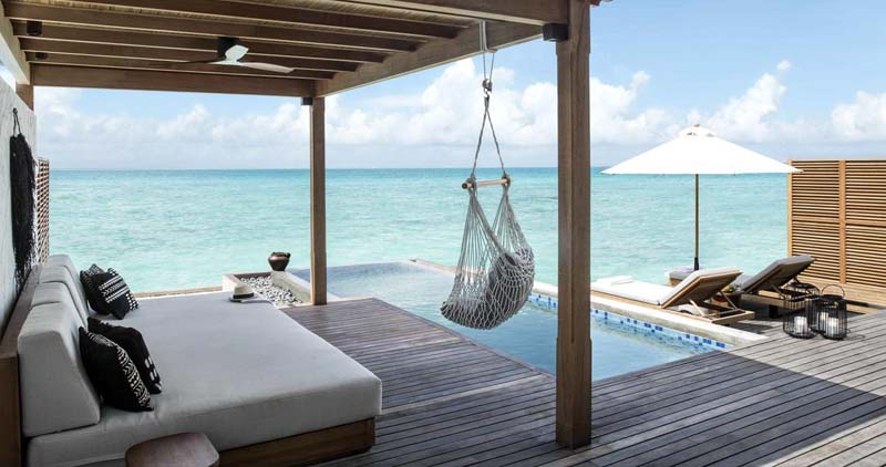 FAIRMONT MALDIVES SIRRU FEN FUSHI - DISCOUNTED 4 NIGHTS PACKAGES