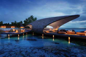 Year round Honeymoon offer at at St. Regis Maldives Vommuli Resort