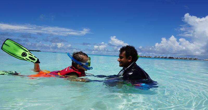 Maldives with kids