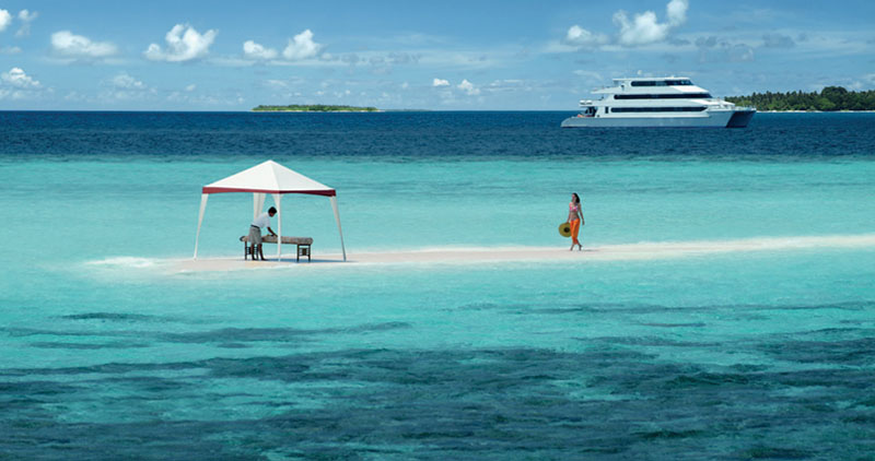 Luxury yacht - Maldives