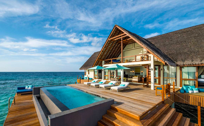 Ultimate Seclusion & Luxury - Water Suite at  Four Seasons Landa Maldives