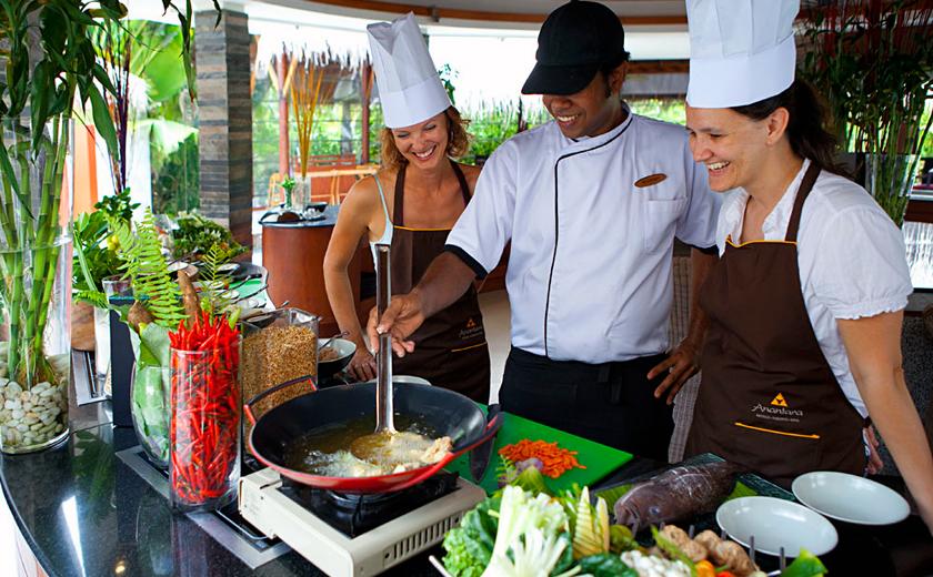 Cooking School - Anantara Resorts Maldives