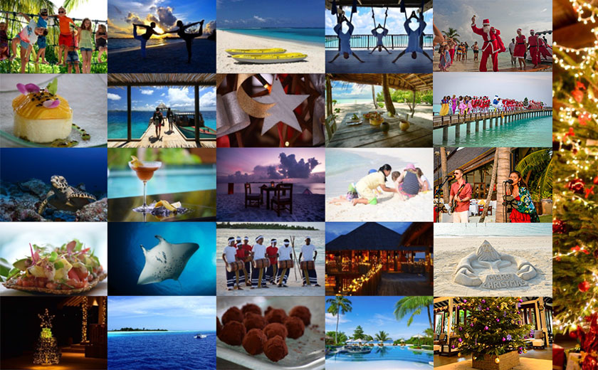 Holiday seasons Maldives