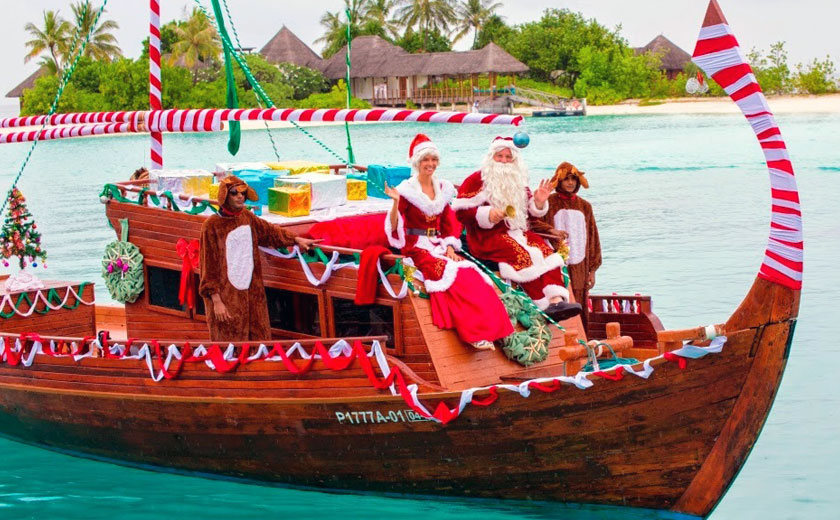 Maldives - Christmas vacation destination
