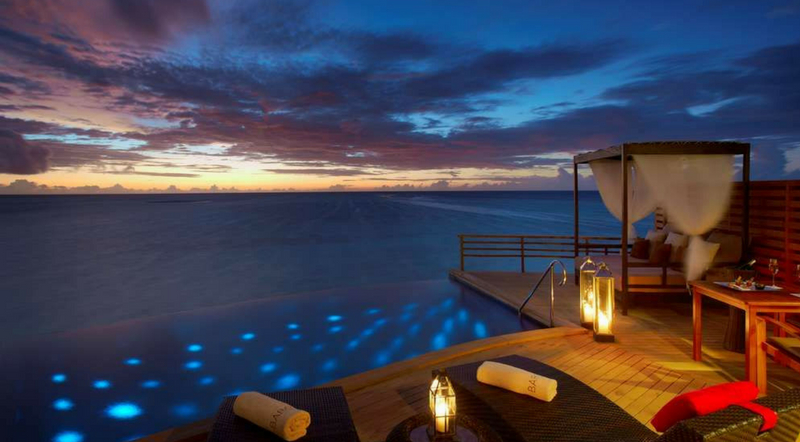 02. Baros Maldives – Water Pool Villa