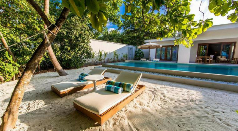 03. Amilla Fushi – Beachfront Villa with Pool
