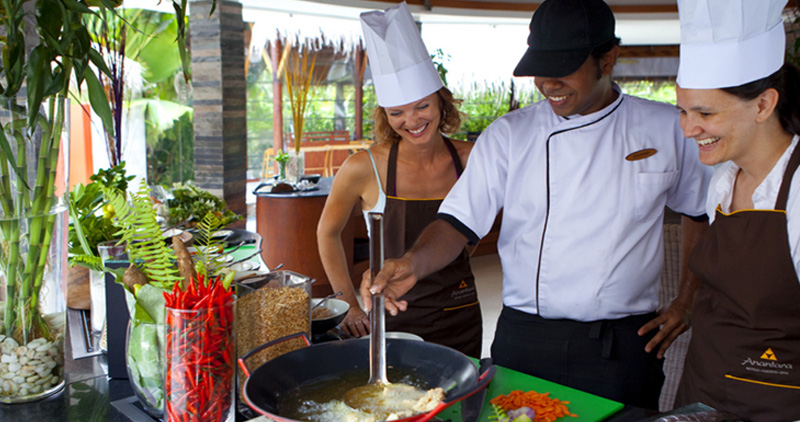 Maldives cooking