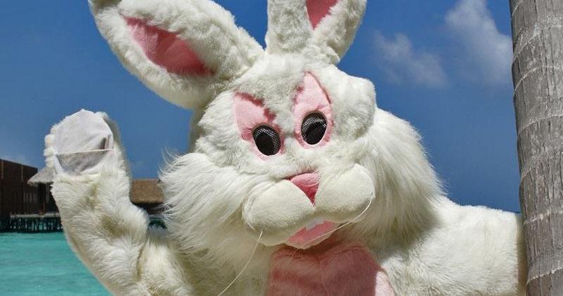 Conrad Maldives - Easter Bunny