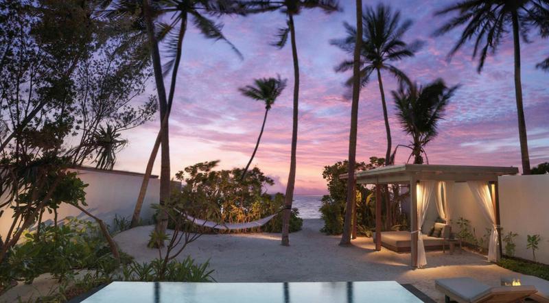 Fairmont Maldives Sirru Fen Fushi - Beach Villa