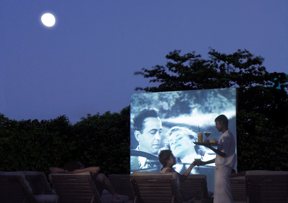 The Cinema in Paradise!