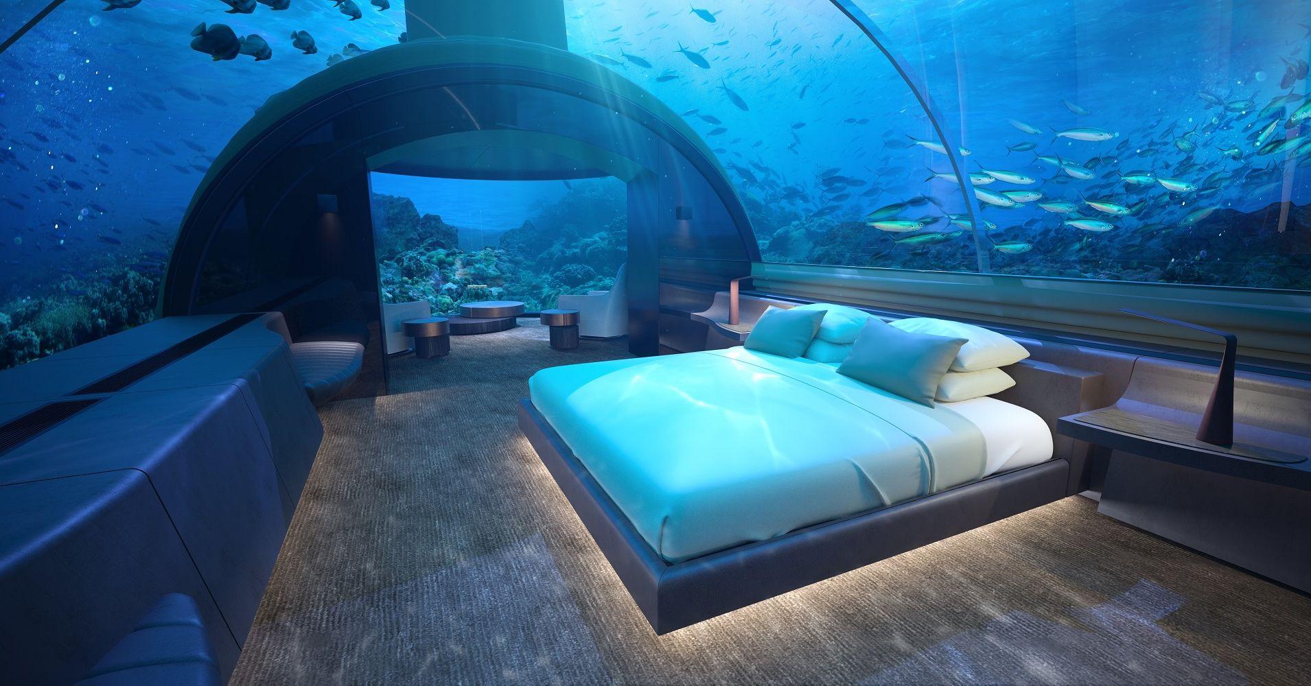 The Muraka Underwater Villa in Maldives