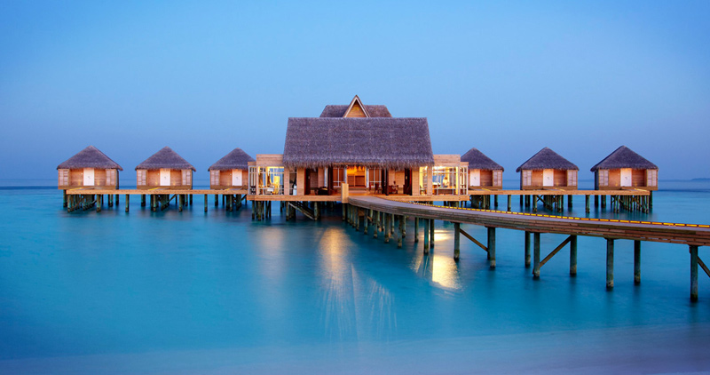 Wonderful World of Over Water Villas