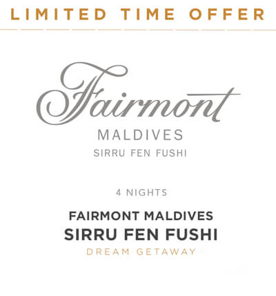 Maldives FairmontMaldives Sirru Fen Fushi