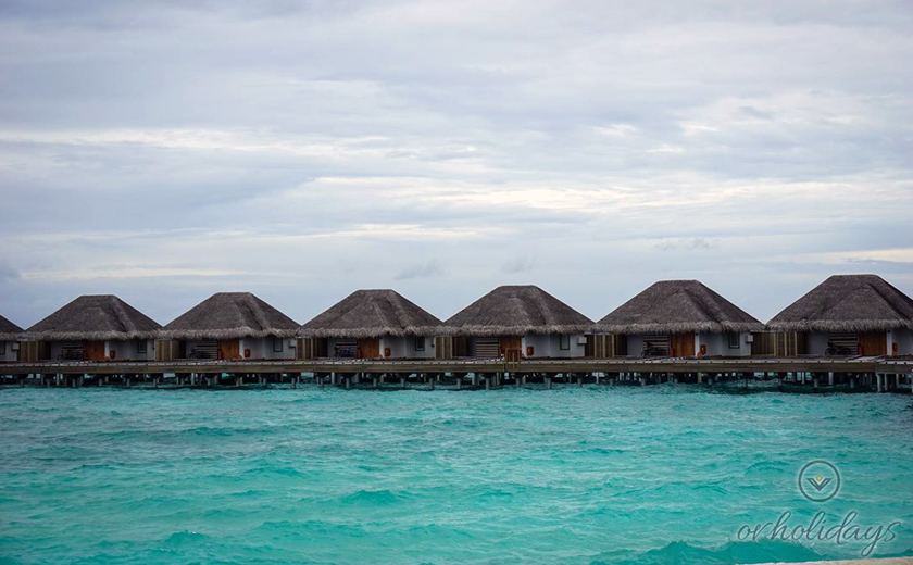 Water villas - Dusit Thani Maldives
