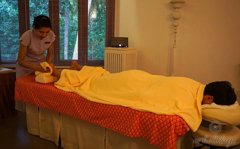 A rejuvenating Thai massage