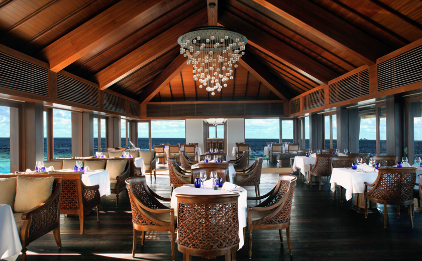 Dining at The Residence Maldives