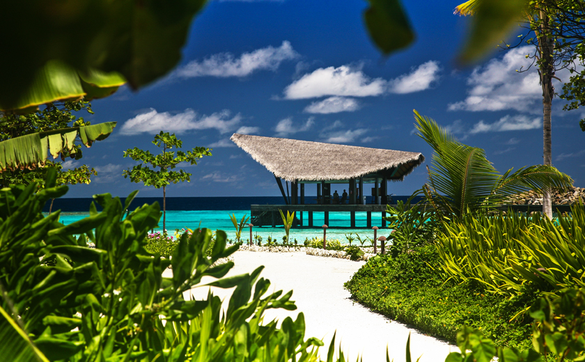 Secluded Luxury amidst Clear Turquoise Waters