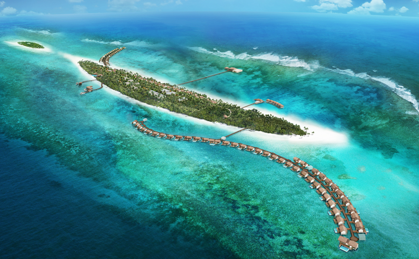 The Residence Maldives - Aerial View