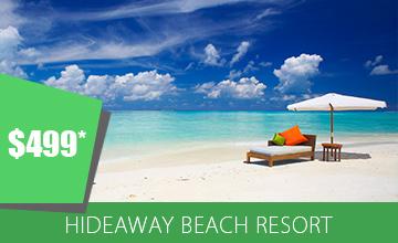 Experience at Hideaway Beach Resort