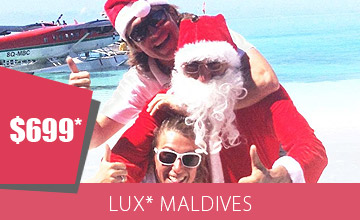 Honeymoon and Christmas Together at LUX*