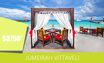 Enjoy an amazing Holiday at Jumeirah Vittaveli