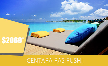 Memorable Holiday at Centara Ras Fushi
