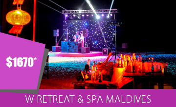 Exclusive Holiday Deal at W Maldives Retreat