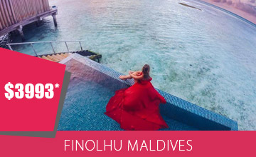 Get Your Festive Groove On At The Maldives This Festive Season
