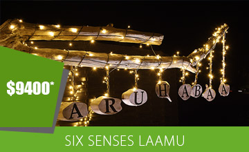 Early Christmas Bonus - 25% OFF at Six Senses Laamu